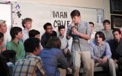 Men's choir coffee house