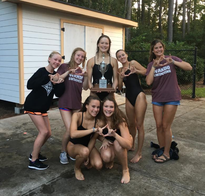 Wando Dominates Varsity Swim Regionals