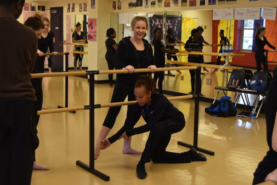 Dance Theatre of Harlem Visits with Educational Outreach