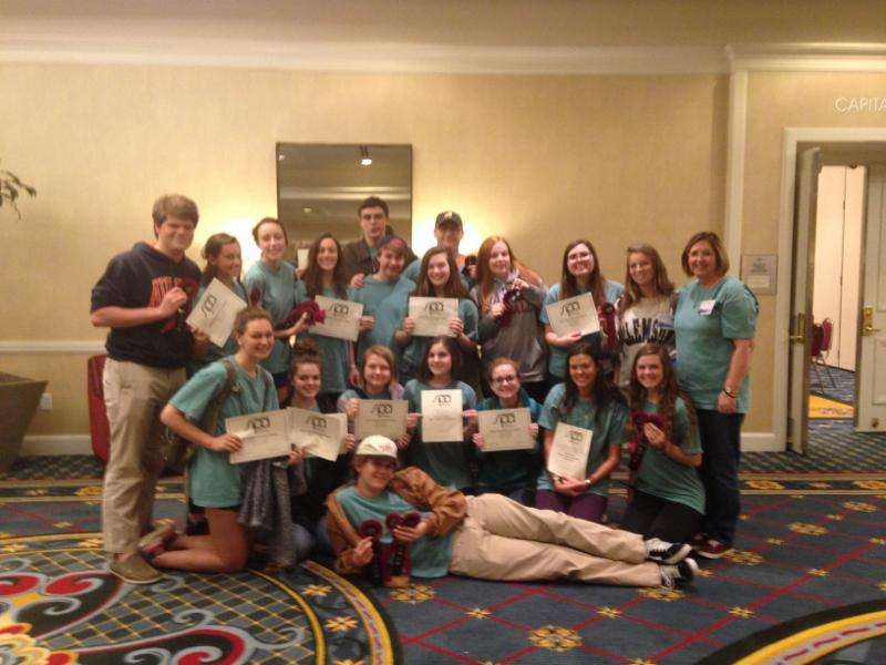 Tribal Tribune Awarded All Southern at South Carolina Scholastic Press Associtation