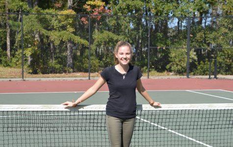 Girls' Tennis Finishing Season with Three-Year Captain