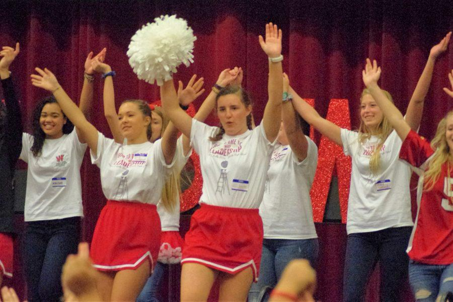 Student Council Hosts District Rally
