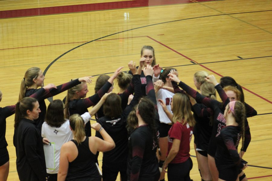 Wando+Volleyball+Defeated+By+Dorman+at+State