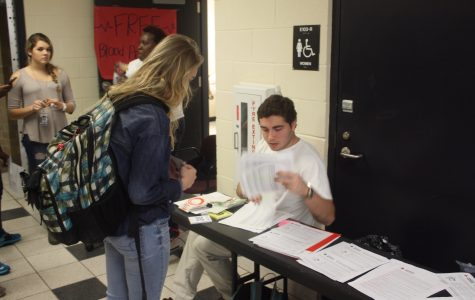 HOSA Club Hosts Blood Drive