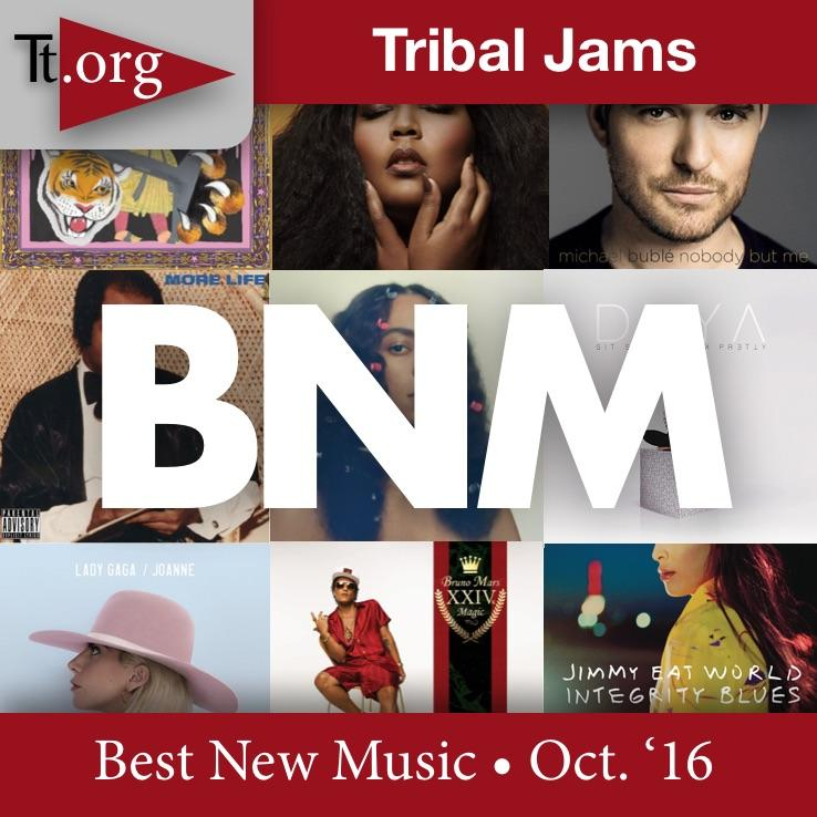 Tribal Jams: Best New Music •Oct. '16