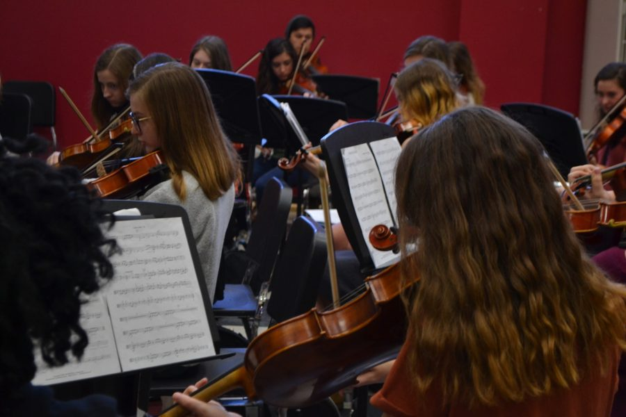 Orchestra Performs at SCMEA
