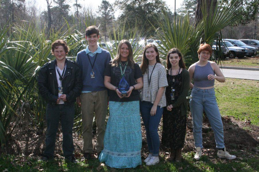 Ocean Science Quiz Bowl Team Takes First Place at Region