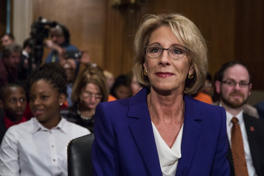 Senate HELP Committee Considers Betsy DeVos To Be Education Secretary