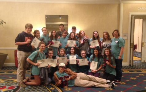Tribal Tribune Awarded All Southern at South Carolina Scholastic Press Associtation