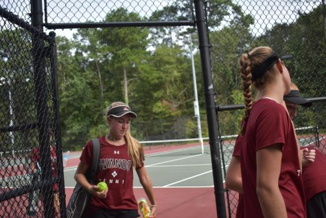 August 30th Wando Girls Tennis vs. Porter Gaud
