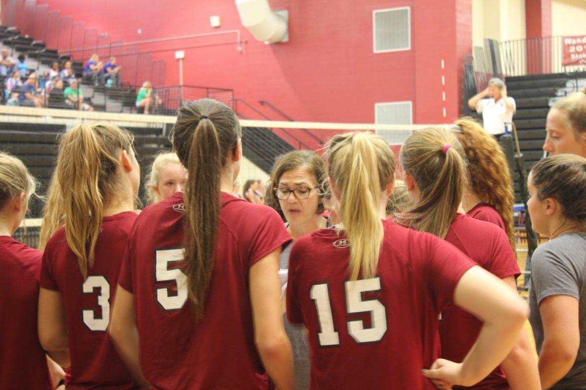 Wando Volleyball Wins 2-0 Vs. Summerville