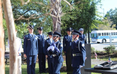 Wando JROTC Holds Annual Memorial for Wando Alumnus Richard Cliff