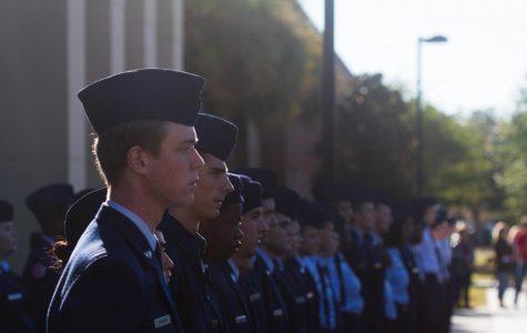 ROTC Recognizes Veteran's Day