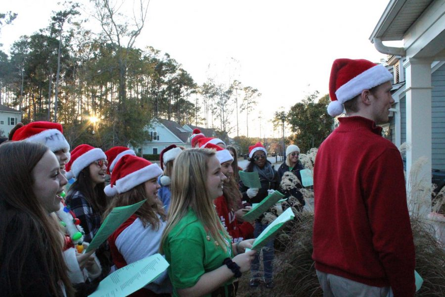 Student Council Brings Holiday Spirit to Somerby
