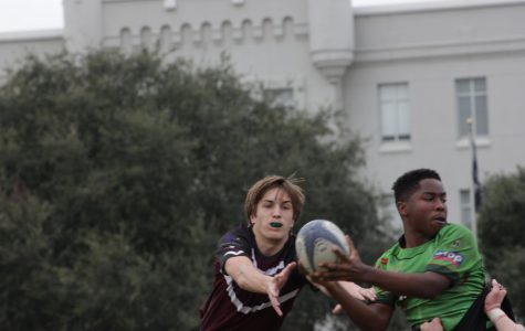 Wando Rugby Play in Toys for Tots Tournament