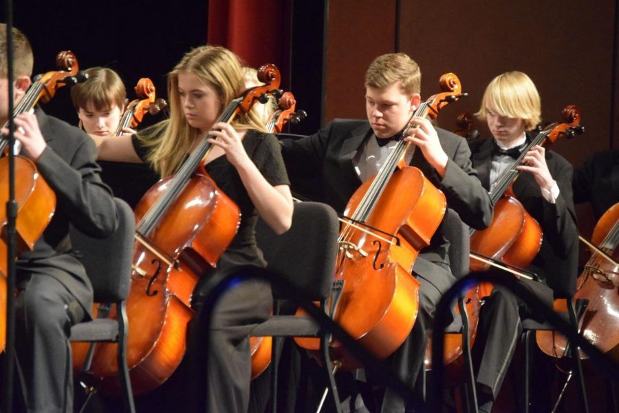 Orchestra Winter Performance Showcases Student Talent