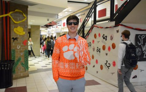Spring Spirit Week: Sports Fan Vs. Business Man