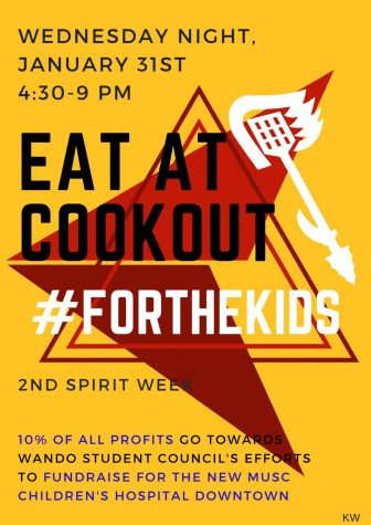 Cookout and Student Councils Effort to Help MUSC Children Hospital