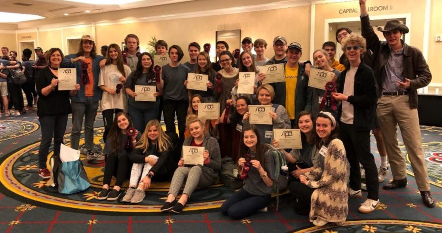 Student Journalists Awarded at Southern Interscholastic Press Association