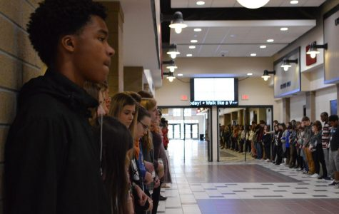 Wando Participates in National Walkout