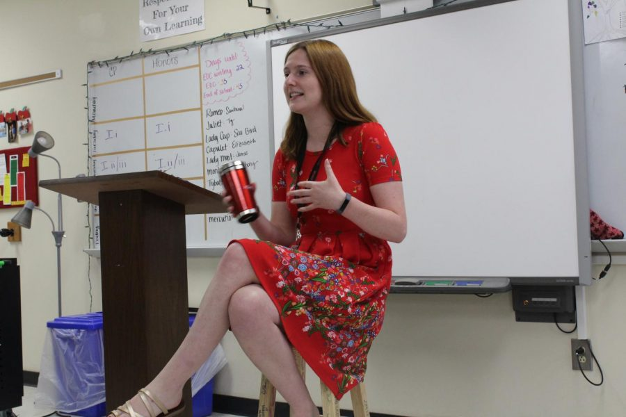 Carly McCrae Wando Rookie Teacher of the Year