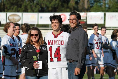 Boy's Lacrosse Senior Night
