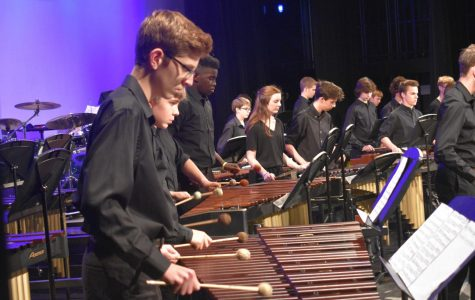 Annual Jazz and Percussion Concert Succeeds