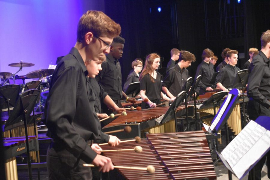 Annual+Jazz+and+Percussion+Concert+Succeeds