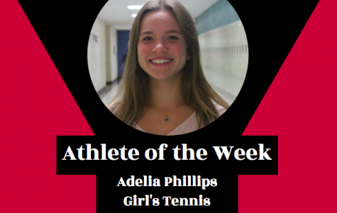 Week 2: Adelia Phillips, Girl's Tennis