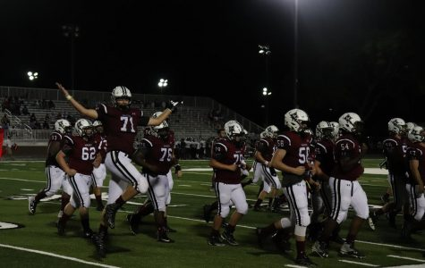 Varsity football defeats Stall High School