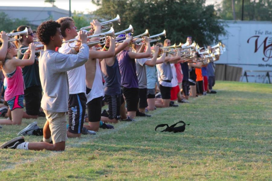 Wando band prepares for exhibition
