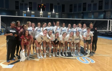 Varsity Volleyball wins tournament of champions