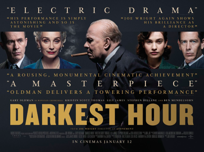 The Darkest Hour envelops the audience into the 1930's