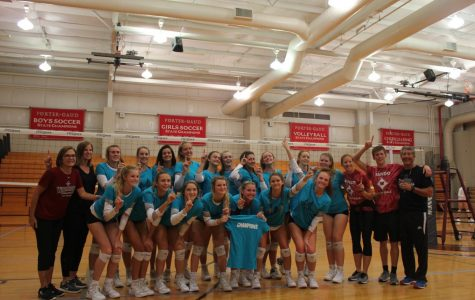 Varsity Volleyball beats Marvin Ridge to win tournament