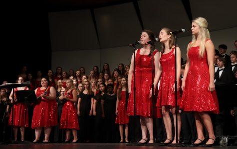 Chorus' first concert was a unique perfermance