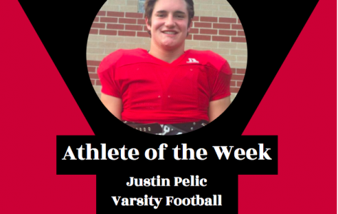 Week 3: Justin Pelic, Varsity Football