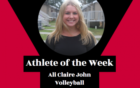 Week 8: Ali Claire John, Volleyball
