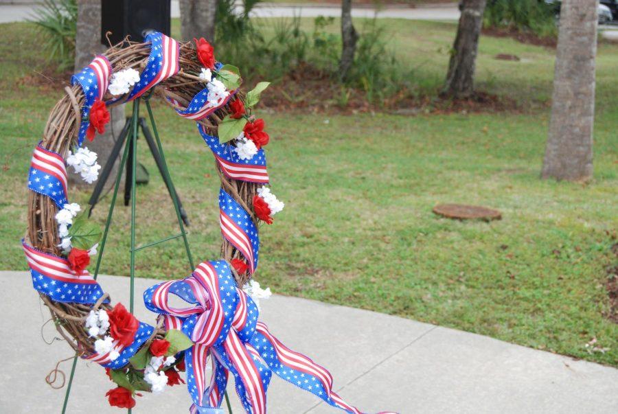 The Veteran Day's Wreath
