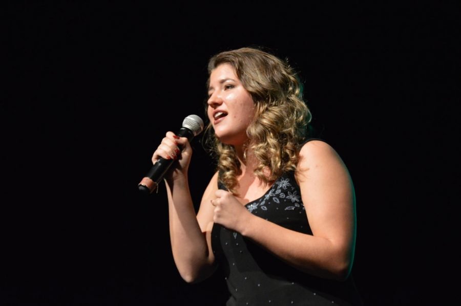 McKenzie Sandifer sings