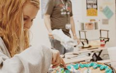 Baking away the stress of high school
