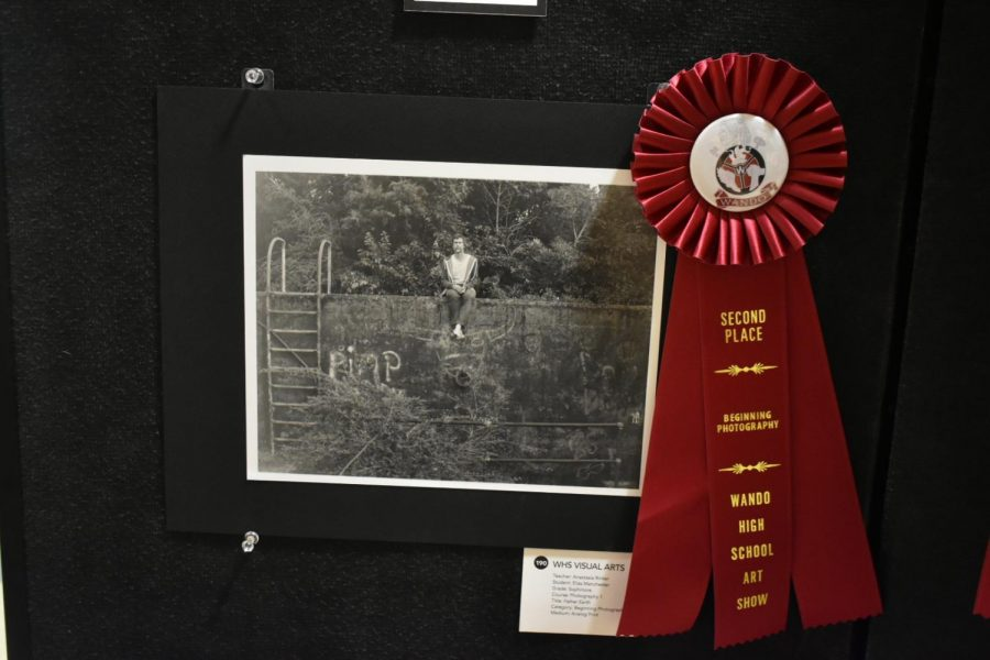 Second Place Award for Beginning Photography. Created by Eliza Latsbaugh