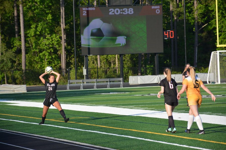 Girl's soccer advance to the second round of the playoffs