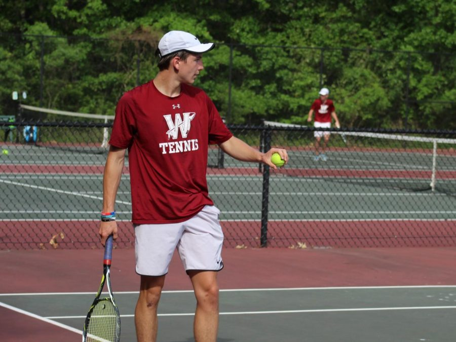 Wando boys tennis defeated by Spartanburg in the tennis state championship game (5/11)