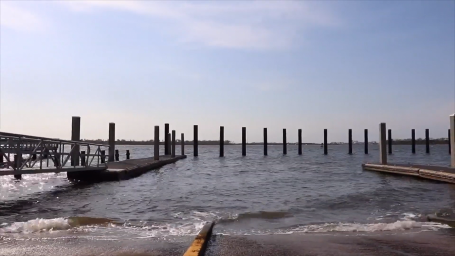 The view of the ocean from Remleys Point, now a boat launch operated by Charleston County Parks and Recreation.
