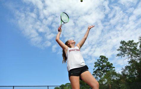 Girls Tennis drops match to Bishop England, 6-0