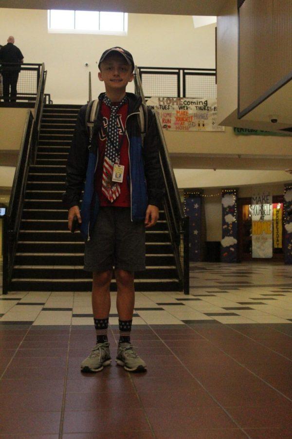 Freshman Cameron Moening