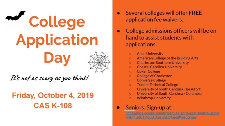 College application day October 4th