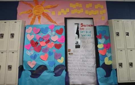 Homecoming door decorating contest results