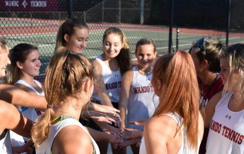 Girls tennis defeats West Ashley 5-1