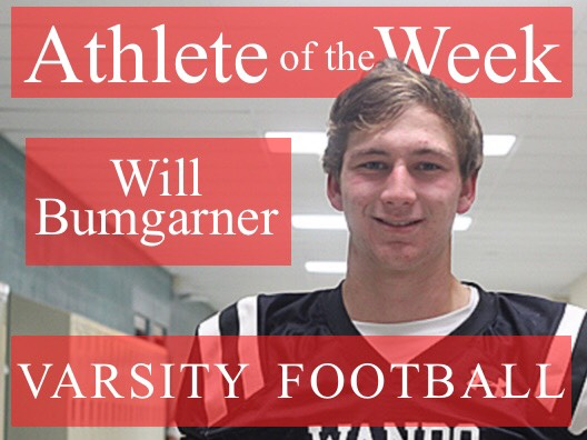 Week 1: Will Bumgarner varsity football
